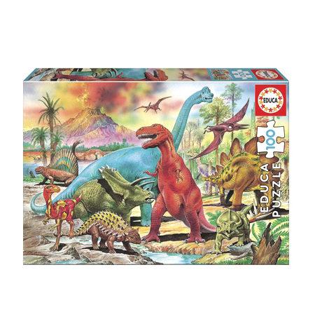 Puzzle 100 Dinosaurios