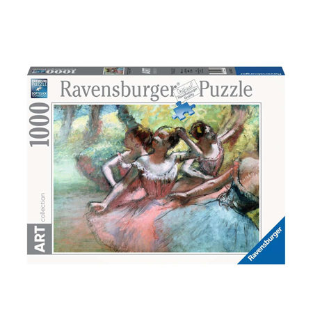 Puzzle 1000 ART Four Ballerines, Degas