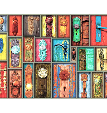 Puzzle 1000 Antiguas Manillas