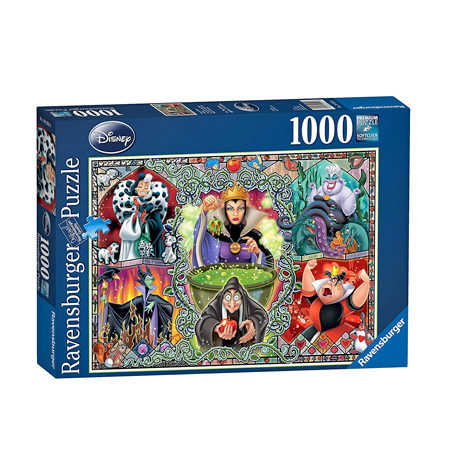 Puzzle 1000 – DISNEY – Mujeres Malvadas