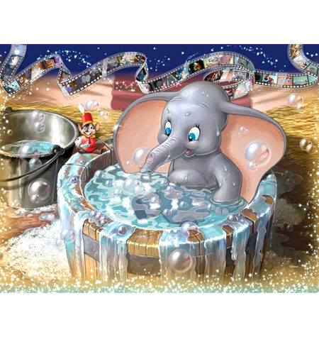 Puzzle 1000 – DISNEY – Dumbo