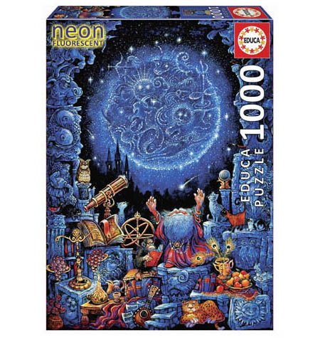 Puzzle 1000 – FLUORESCENTE – El Astrólogo