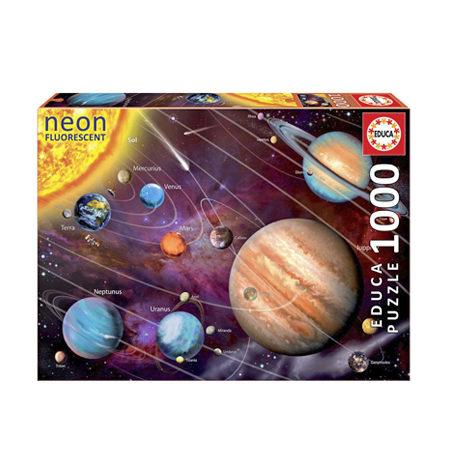 Puzzle 1000 – FLUORESCENTE – Sistema Solar