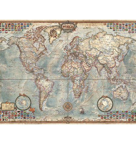 Puzzle 1000 MINI – El Mundo, Mapa Político