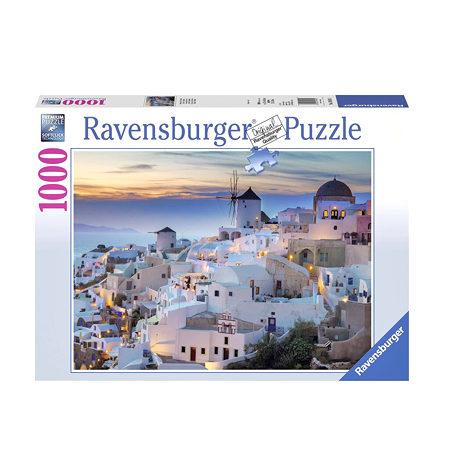 Puzzle 1000 Tarde en Santorini
