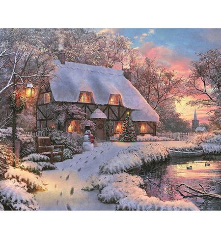 Puzzle 1000 The Poet´s Cottage