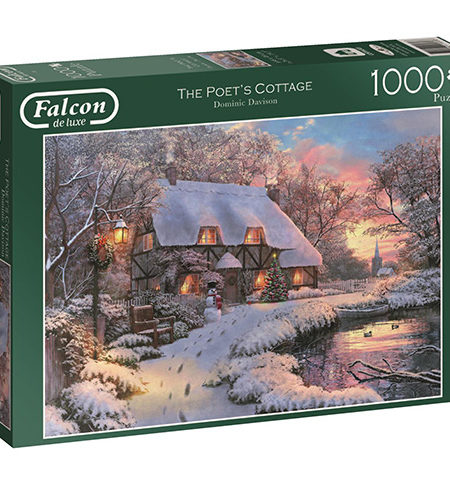 Puzzle 1000 The Poet´s Cottage