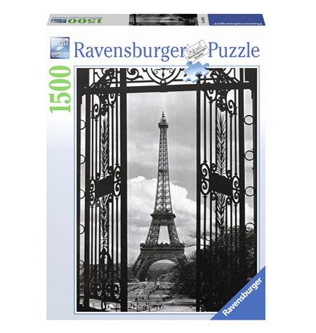 Puzzle 1500 B/N Bienvenido a París