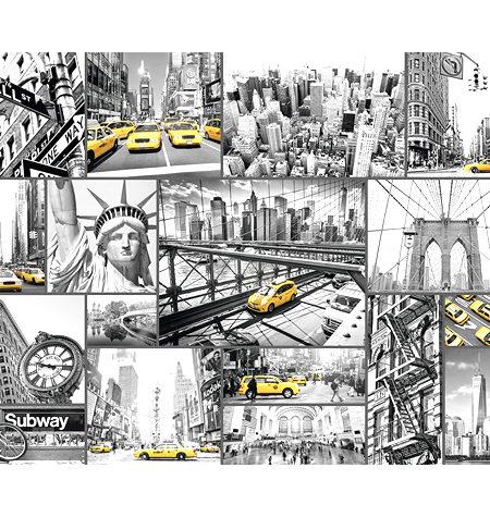 Puzzle 1500 B/N Nota de Color en Nueva York