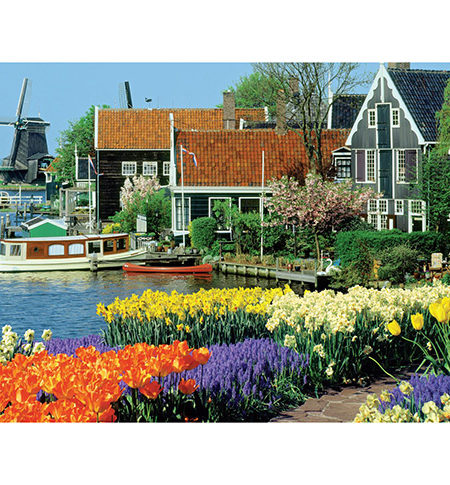 Puzzle 1000 Zaanse Schans, The Netherlands