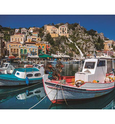 Puzzle 1000 Symi, Greece