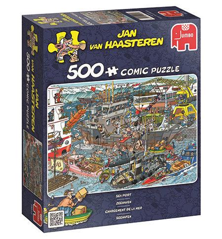 Puzzle 500 Cómic Sea Port