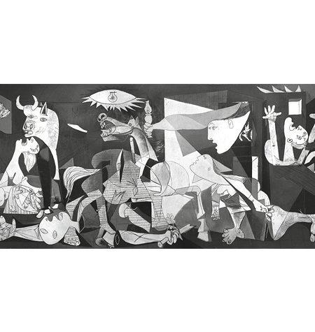 Puzzle 1000 MINI – B/N Guernika – Panorámico