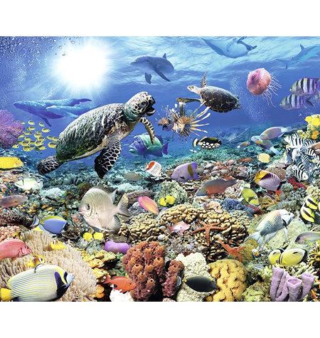 Puzzle 2000 Vida en el Arrecife de Coral