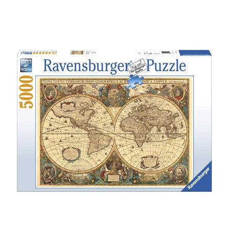 Puzzle 5000 Mapamundi Histórico