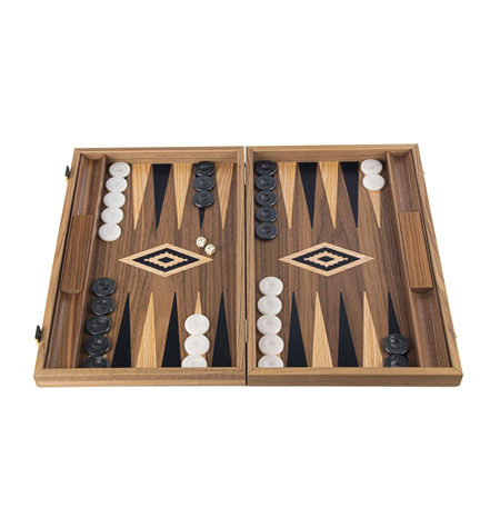 Backgammon Grande Madera NOGAL