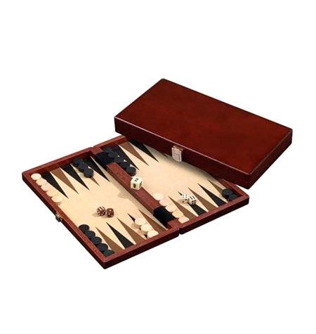 Backgammon Mediano Madera Oscura