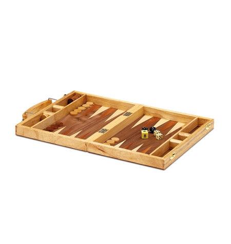 Backgammon Pequeño Madera Marquetería