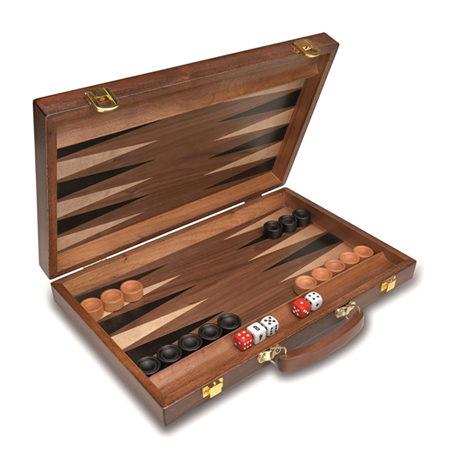 Backgammon Mediano Madera Plus