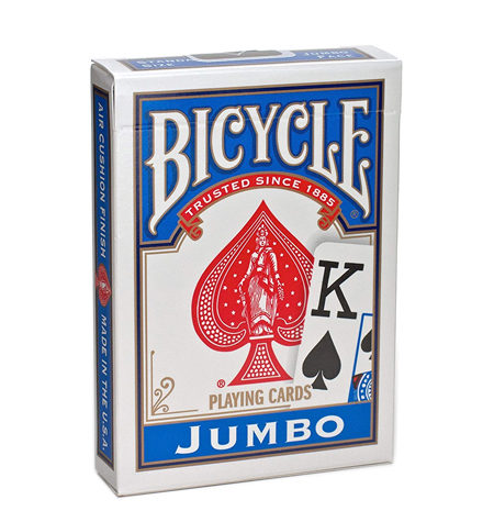 Baraja Poker Bicycle Jumbo