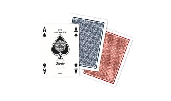 Baraja Poker 100% Plástico – Número Pequeño