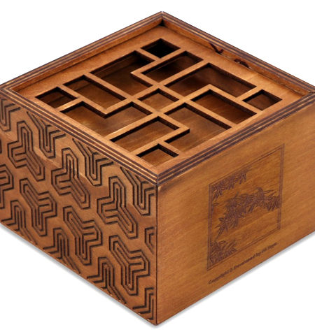 Caja Imposible ZHU – Secret Box Bambú