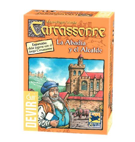 Carcassonne Expansión – Abadía y alcalde