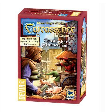 Carcassonne Expansión – Constructores y Comerciantes