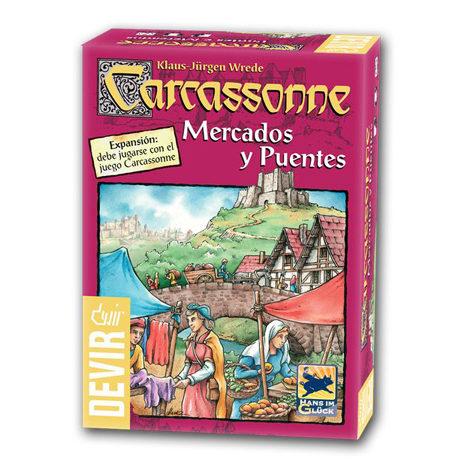Carcassonne Expansión – Mercados y Puentes