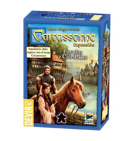 Carcassonne Expansión – Posadas y catedrales