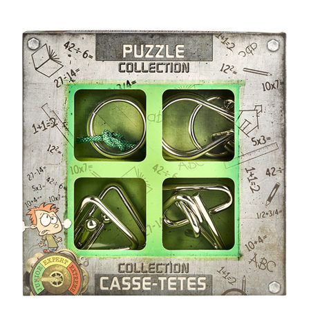 Rompecabezas de Metal CASSE TETES Junior Verde