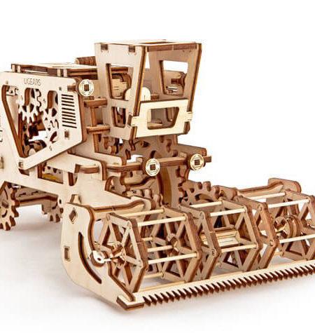 Construcción de Madera – Cosechadora