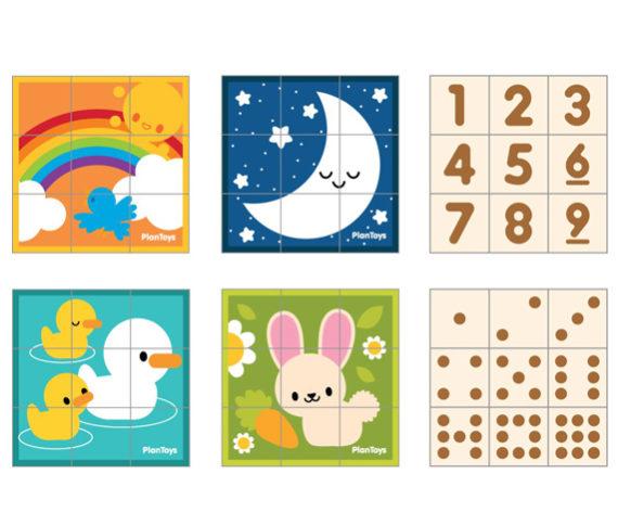 9 Cubos – Animales y Números
