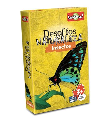 Desafíos Naturaleza Insectos