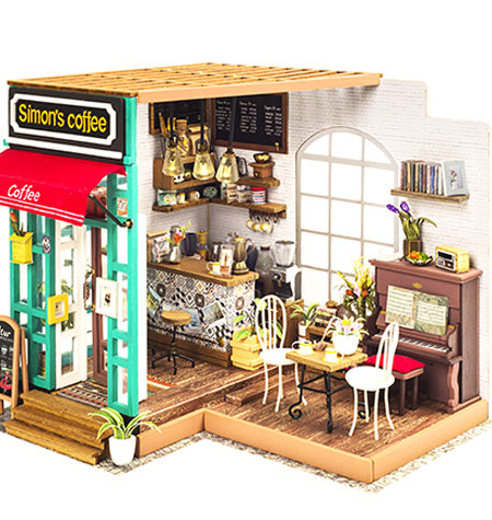 Miniature House DIY – Simon´s Coffee