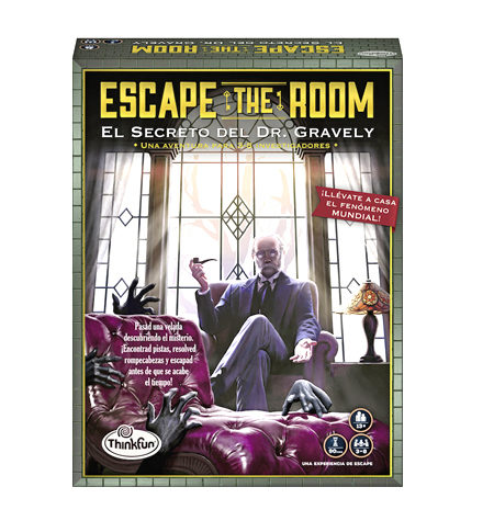 Escape Room – El Secreto del Dr. Gravely