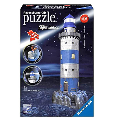 Puzzle 3D LUZ – 216 Faro