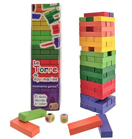 Jenga de Colores – La Torre Grande