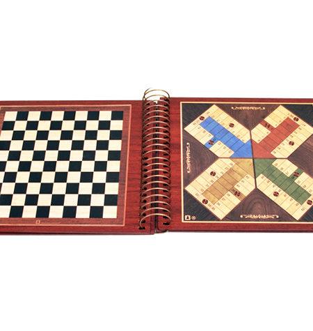 Libro de 6 juegos en Madera