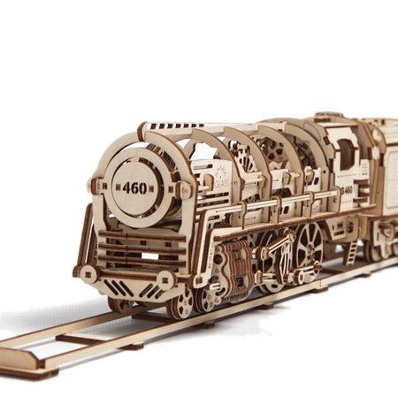 Construcción de Madera – Locomotora