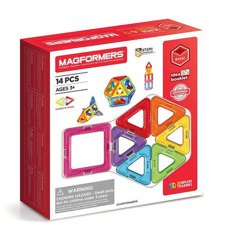 Magformers 14 piezas BASIC