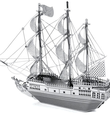 Metal Model Barco Perla Negra