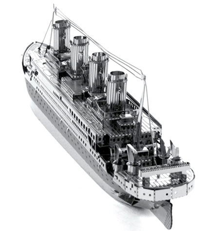 Metal Model Titanic