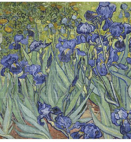 Puzzle 150 MINI Lirios, Van Gogh