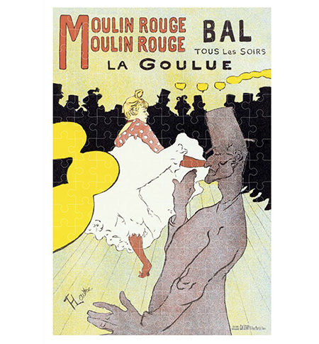 Puzzle 150 MINI Moulin Rouge, Toulouse-Lautrec