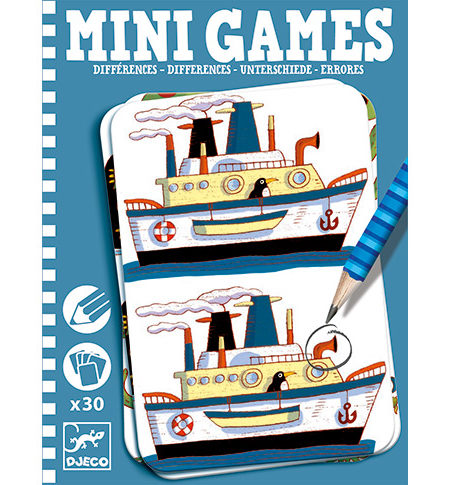 Mini Games – Errores AZUL