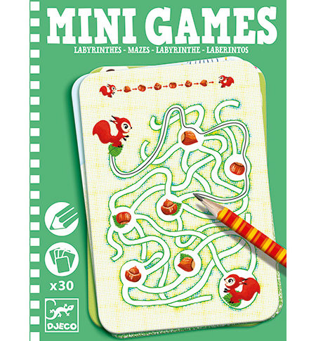 Mini Games – Laberintos VERDE