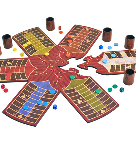 Parchís de TARACEA para 6 jugadores