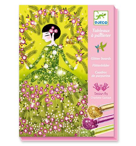 Pintar con Purpurina – Vestidos