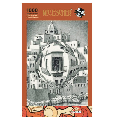 Puzzle 1000 B/N ESCHER – Balcón